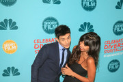 Manny Jacinto and Jameela Jamil are seen attending the 12th Annual NBCUniversal Short Film Festival finale screening at the Directors Guild of America in Los Angeles, California.