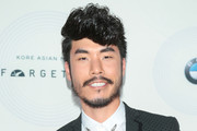Eugene Lee Yang is seen attending the 16th annual Unforgettable Gala at The Beverly Hilton Hotel in Los Angeles, California.