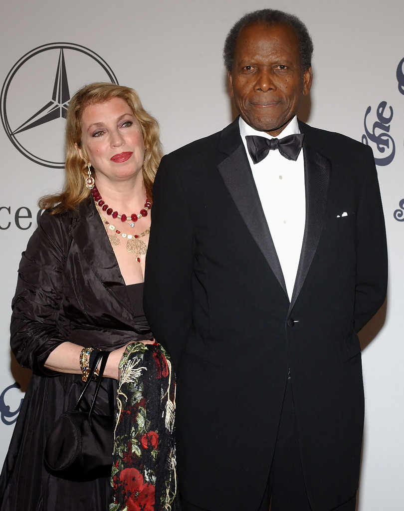 Sidney Poitier Joanna Shimkus Photos Photos 17th
