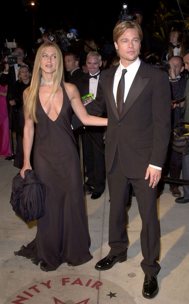 Jennifer Aniston Vanity Fair Oscar party. .Mortons, West Hollywood, CA. .March 26, 2000.