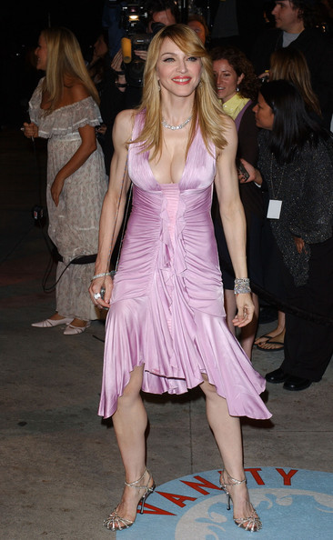 Madonna 2006 Vanity Fair Oscar Party.Morton's, West Hollywood, CA.March 5, 2006.