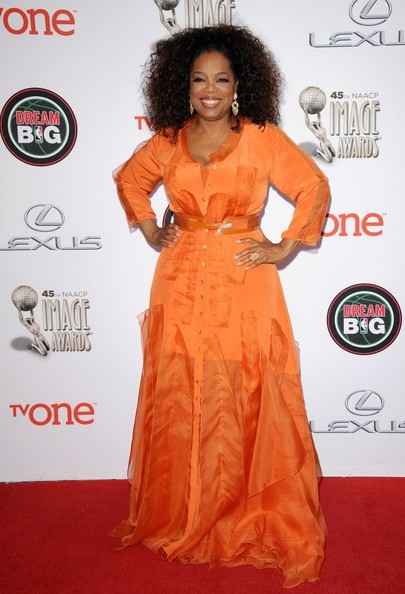 45th NAACP Image Awards..Pasadena Civic Auditorium, Pasadena, California..February 22, 2014..Job: 140222A1..(Photo by Axelle Woussen/Bauer-Griffin)..Pictured: Oprah Winfrey.