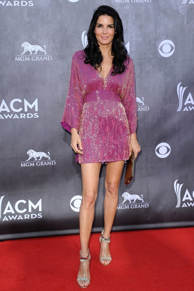 Angie Harmon Photos Photos Arrivals At The Academy Of