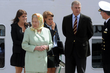 Queen Elizabeth II Princess Beatrice Royal Family on a Cruise