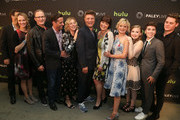 Casey Johnson, Todd Holland, David Windsor, Stacy Traub, Jay R Ferguson, Mary Hollis Inboden, Martha Plimpton, Bebe Wood, Noah Galvin and Matt Shively are seen attending ABC's 'The Real O'Neals' screening and conversation.