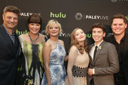 Actors Jay R. Ferguson, Mary Hollis Inboden, Martha Plimpton, Bebe Wood, Noah Galvin and Matt Shively are seen attending ABC's 'The Real O'Neals' screening and conversation.