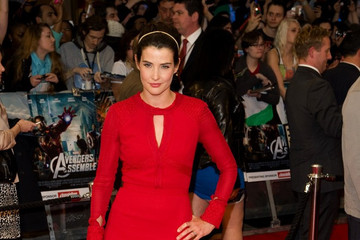 Cobie Smulder Stars at the Premiere of 'The Avengers' in London