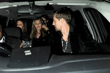 Abbey Clancy Celebs Leave the NME Awards