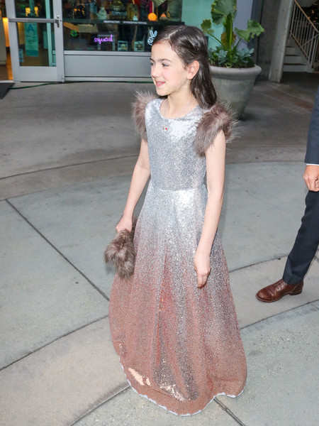 Abby Ryder Fortson Outside The 'A Dog's Journey' Premiere At ArcLight Theatre