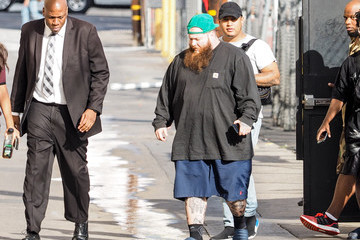 Action Bronson Action Bronson Is Seen Arriving at 'Jimmy Kimmel Live'