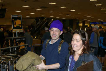 Adam Horovitz Celebrities Are Seen at Salt Lake City Airport