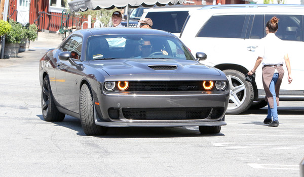 Adam Sandler Drives A Challenger Now