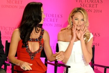 Adriana Lima Victoria's Secret Angels Take Over London — Part 3