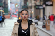 c182f4b28d Adriana Lima Films Maybeline Commercial In SoHo Thumbnails ...