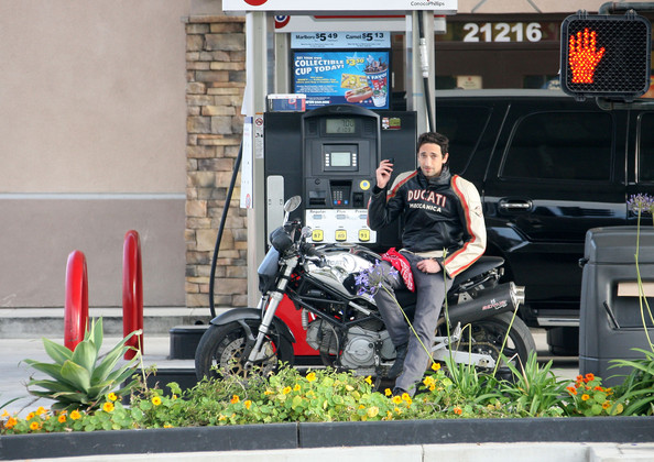Adrien Brody Leaving a Memorial Day Party