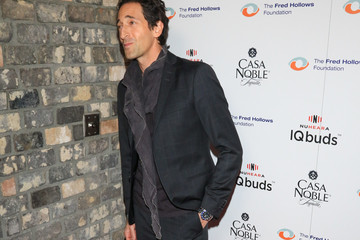 Adrien Brody The Fred Hollows Foundation Inaugural Fundraising Gala Dinner at Dream Hotel in Hollywood
