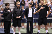 Elton John Anna Kournikova Photos Photo