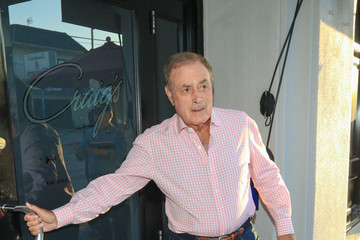 Al Michaels Al Michaels Outside Craig's Restaurant In West Hollywood