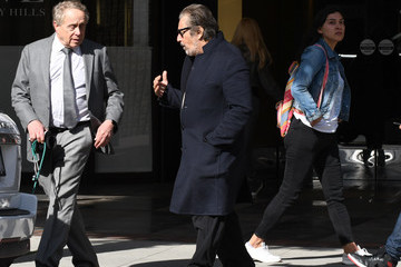 Al Pacino Al Pacino out and about..