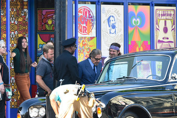 Al Pacino Al Pacino Is Seen On The Set Of 'Once Upon A Time In Hollywood'