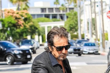 Al Pacino Al Pacino Runs Errands in Beverly Hills