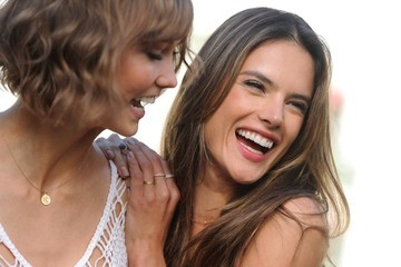 Alessandra Ambrosio Karlie Kloss Victoria's Secret Angels Promote New Collection