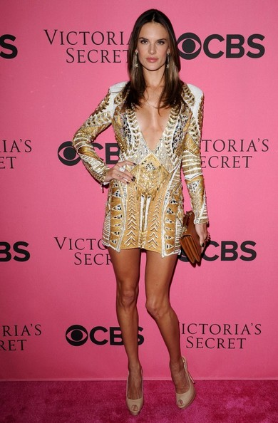 Alessandra Ambrosio 2011 Victoria's Secret Fashion Show Viewing Party.Samueli Theatre, Segerstrom Center for the Arts, Costa Mesa, CA.November 29, 2011.