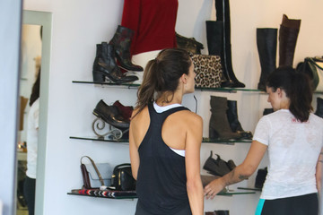 Alessandra Ambrosio Alessandra Ambrosio Out and About
