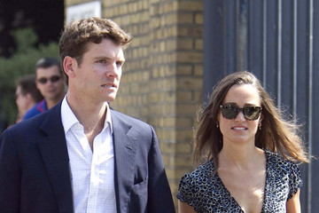 Alex Loudon Pippa Middleton and Alex Loudon at Lords Cricket Ground