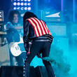 Alice Cooper Johnny Depp And Alice Cooper Perform On 'Jimmy Kimmel Live'