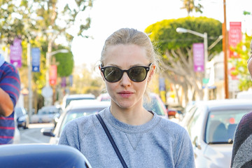 Amanda Seyfried Amanda Seyfried Leaves Lunch at Gracias Madre