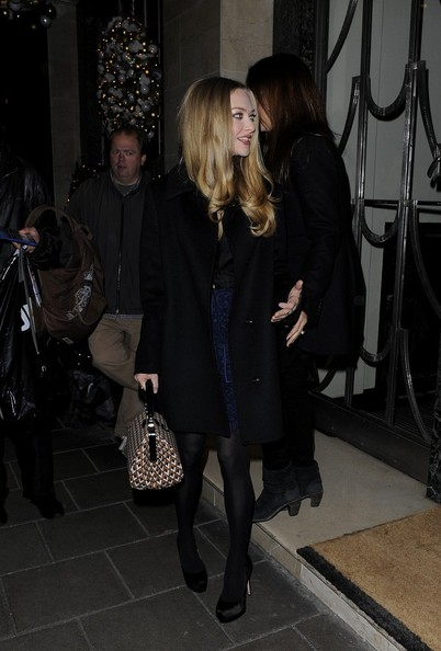 Amanda Seyfried - The Cast of 'Le Mis' in London
