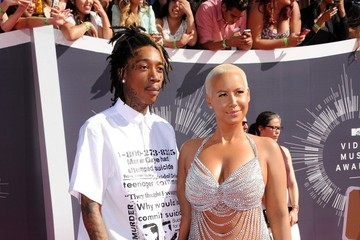 Amber Rose Arrivals at the MTV Video Music Awards