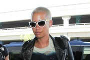 Amber Rose Arrives at LAX
