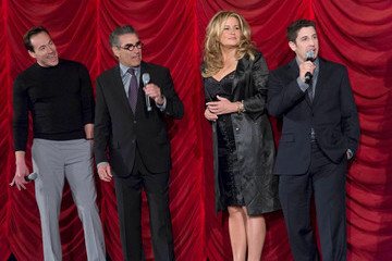 Jason Biggs Eugene Levy Celebs at the 'American Reunion' Premiere