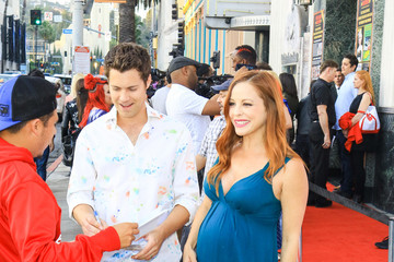 Amy Paffrath Drew Seeley And Amy Paffrath Are Seen At The Hollywood Museum