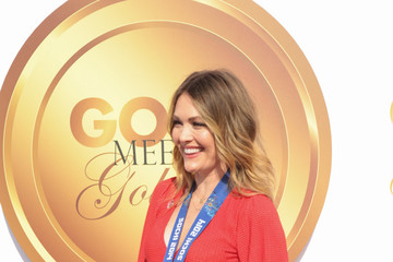 Amy Purdy GOLD MEETS GOLDEN: The 5th Anniversary Refreshed by Coca-Cola, Globes Weekend Gets Sporty with Athletic Royalty