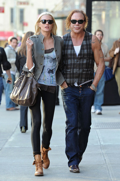 Mickey Rourke Anastassija Makarenko Anastassija Makarenko Photos Mickey Rourke And Anastassija Makarenko In The Meatpacking District 2 Zimbio Mickey rourke is gearing up for the holidays with his longtime love. mickey rourke anastassija makarenko