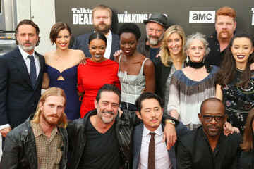 Andrew Lincoln Robert Kirkman 'Talking Dead Live' for the Premiere of 'The Walking Dead'