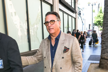 Andy Garcia Andy Garcia Outside Katsuya Restaurant In Hollywood