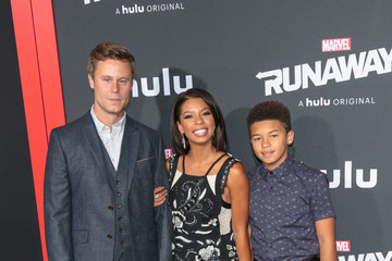 Angel Parker Premiere of Hulu's 'Marvel's Runaways'
