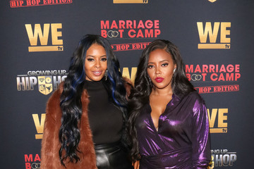 Angela Simmons WE tv Celebrates The Premiere Of Marriage Boot Camp: Hip Hop Edition And Growing Up Hip Hop