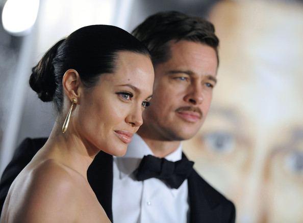 """Angelina Jolie and Brad Pitt - """"The Curious Case of Benjamin Button ..."""