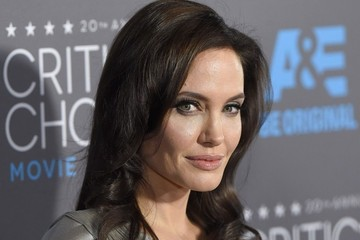 Angelina Jolie Arrivals at the Critics' Choice Movie Awards