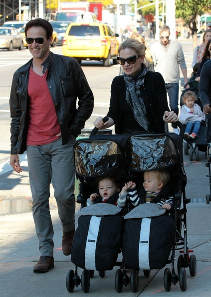 Anna Paquin and Family Out in the East Village