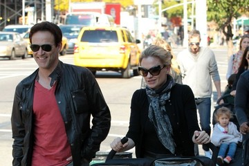 Anna Paquin Charlie Moyer Anna Paquin and Family Out in the East Village