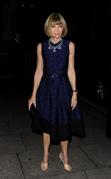 Anna Wintour - Stars Come Out to Celebrate the Global Fund