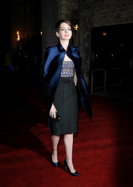 Anne Hathaway - Celebs at the 'Les Mis' After Party