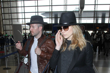 Anthony Byrne Natalie Dormer and Anthony Byrne Are Seen at LAX