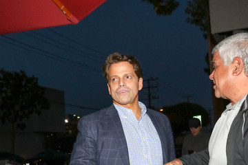 Anthony Scaramucci Anthony Scaramucci At Craig's Restaurant In West Hollywood